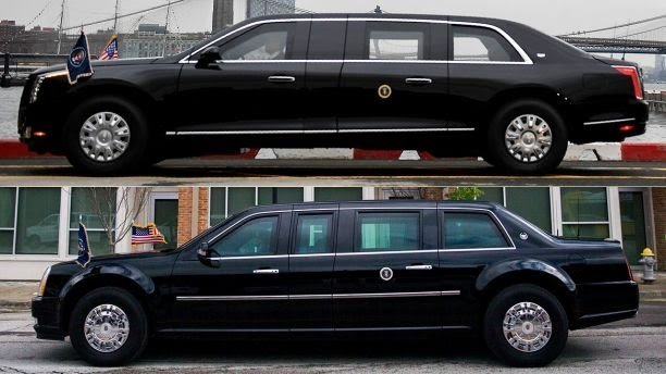 US President, Donald Trump, gets a Brand new Limousine