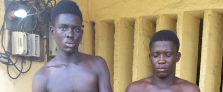Two Brothers allegedly beheads a 10-year-old for N200k in Lagos