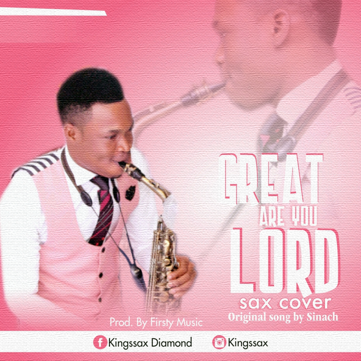 Kingssax - Great Are You Lord (Sax Cover)