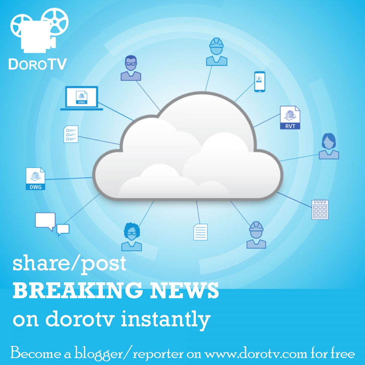 Submit Content to DoroTV for Publication (#free)