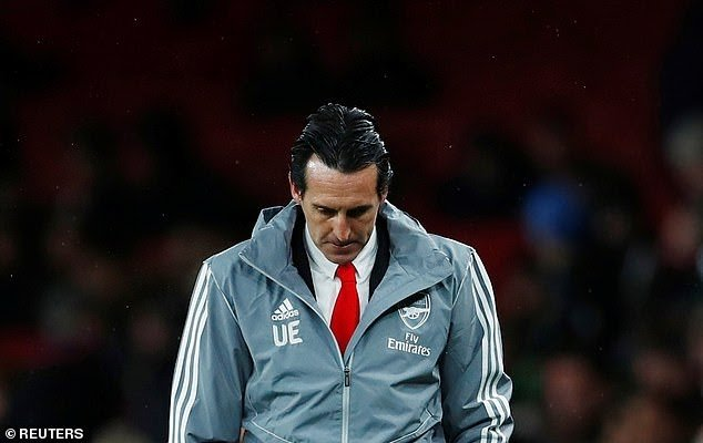 Arsenal Sacks Unai Emery After Losing To Frankfurt