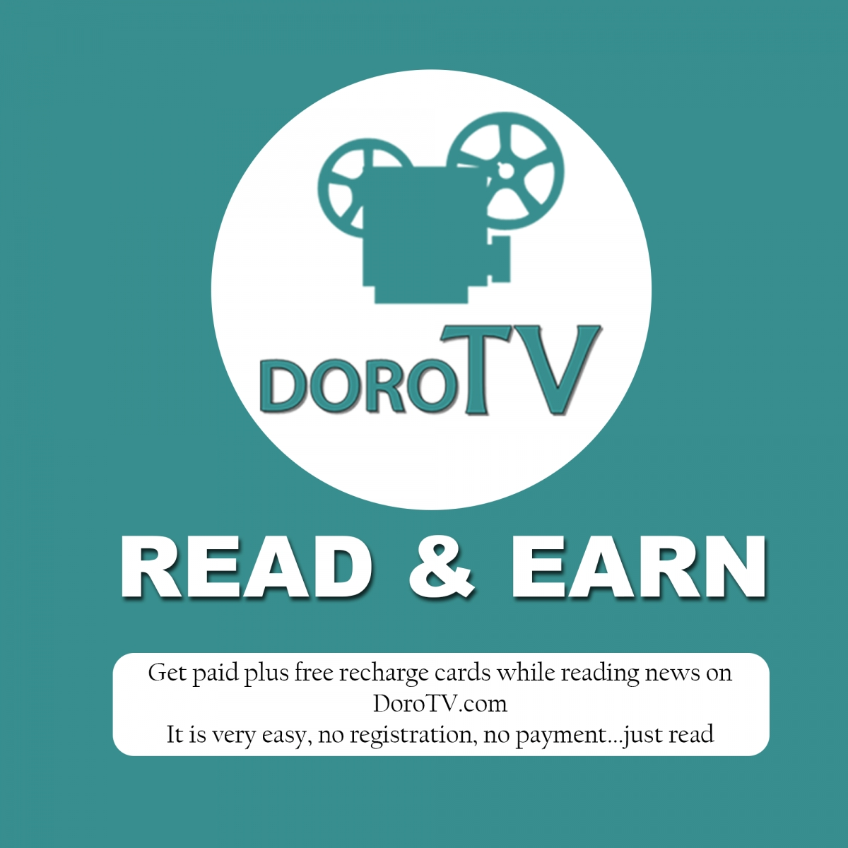 Earn While Reading News On DoroTV