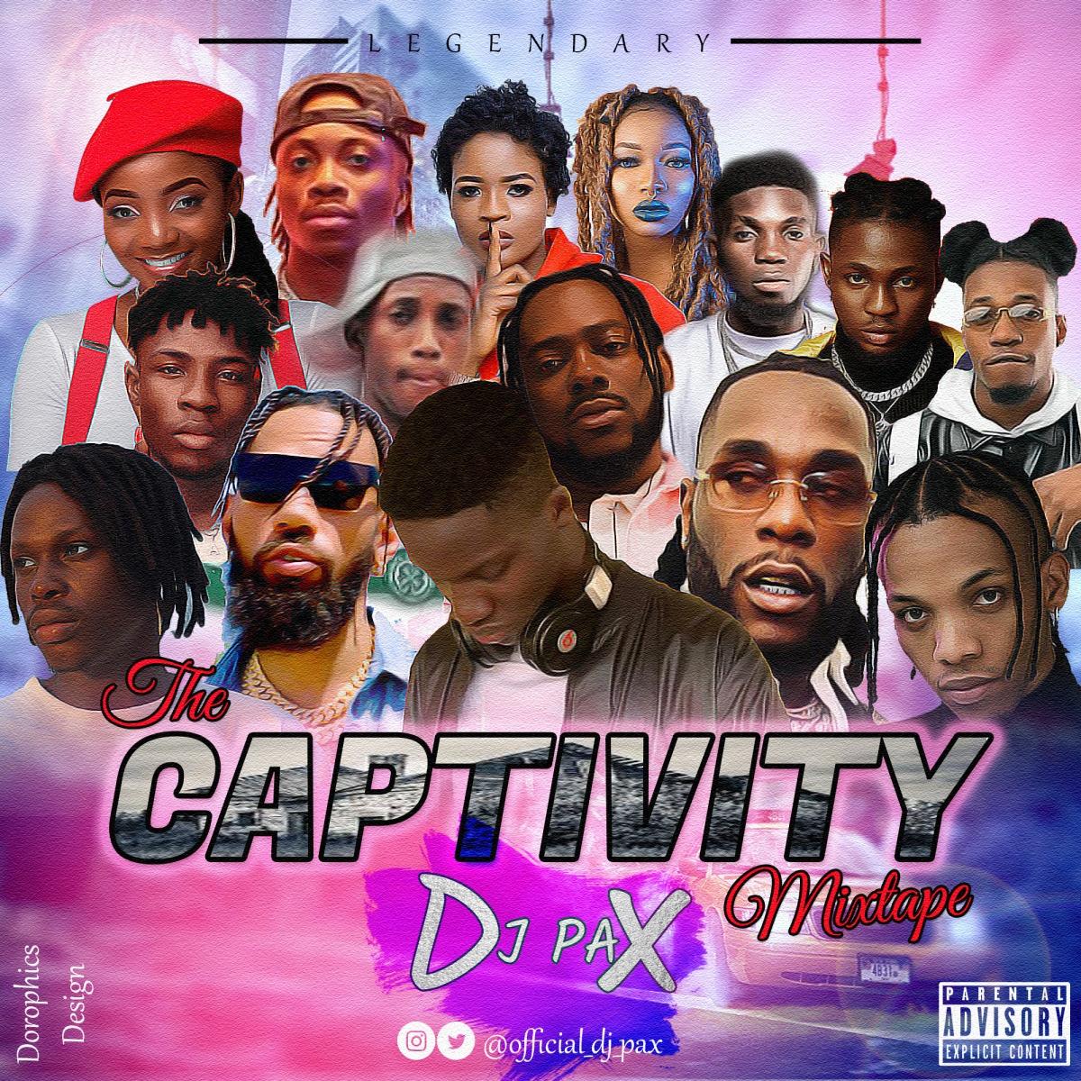 DJ PAX - The Captivity Mixtape