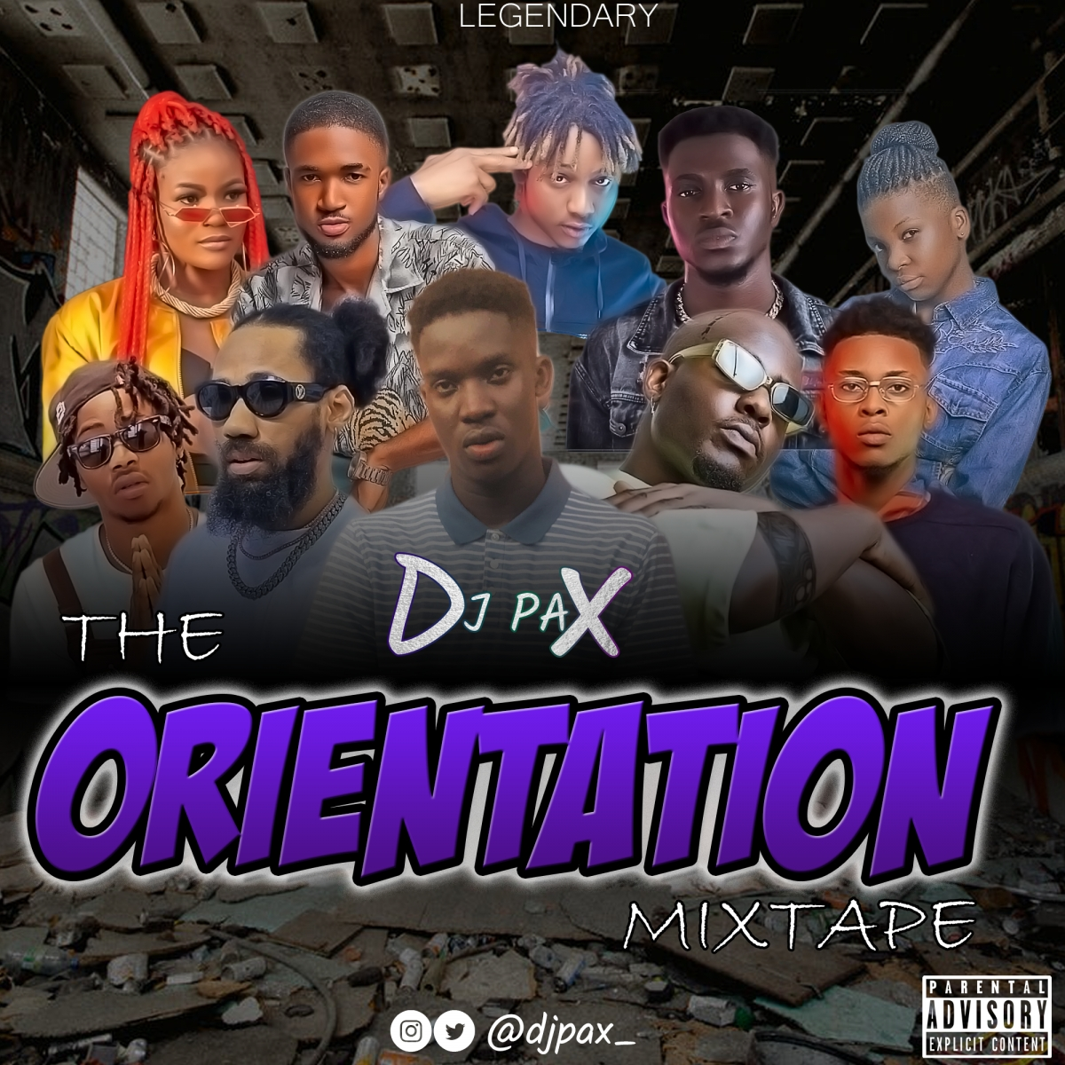 DJ PAX - The Orientation Mixtape